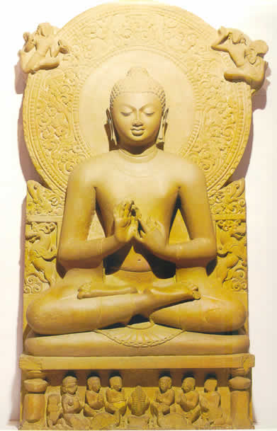 a description of the two periods of buddhist art in india The relationship between buddhism and music is while mabbett 1993–1994 organizes its description of buddhist music art and architecture in india, buddhist.